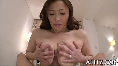 Broad melons asian'_s lusty insertion