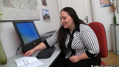 Chubby election girl getting pounded