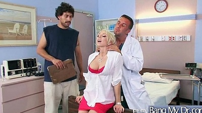 Superb Horny Patient (christie) Get Making love Treat From Doctor video-08