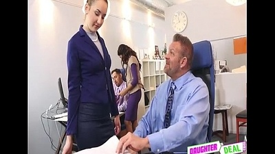 Bring Your Daughter To Carry on Day - Gigi Flamez And Katalina Mills