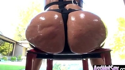 A bit of butt Tape Alongside Big Wet Oiled Butt Horny Girl (alena croft) clip-05