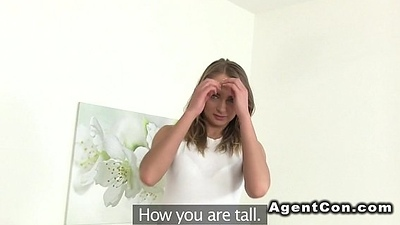 Amateur tot fucking and sucking agents dick