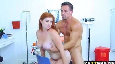 Johnny Hall banging Lennox Luxe shaved pussy