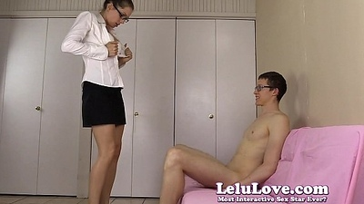 Amateur skirt gives him caricature then blowjob to riding creampie