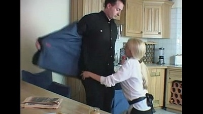 Cheating British Husband Fucks The Big Tits Quarters Maid