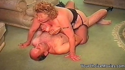 Older couples homemade intercourse film