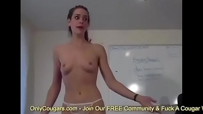 Cheerleader Finger Bangs Say no to Real Teen Pussy In Pot-pourri