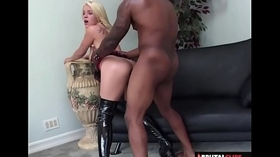 BrutalClips - Blondie Acquires an Anal Punishment