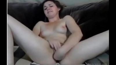 Her first orgasm on cam See her on girls-69.com